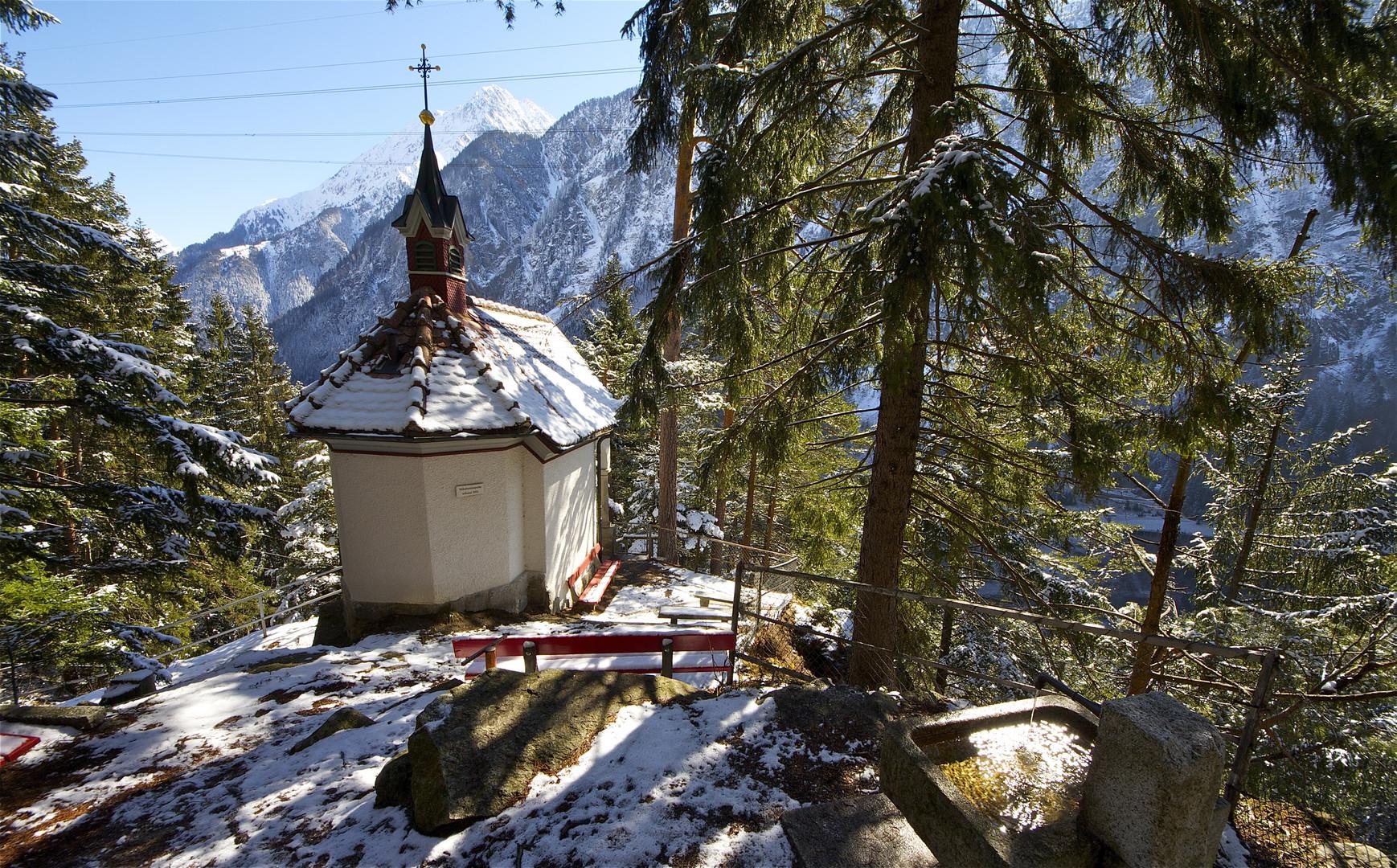 Stäubenkapelle , Gurtnellen, Uri