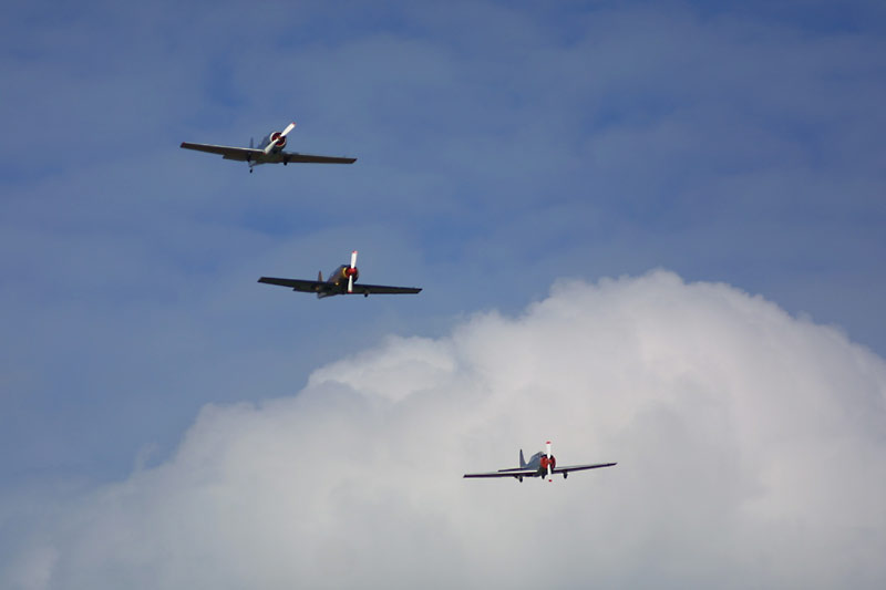 Staffelflug