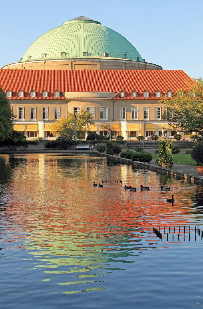 Stafthalle Hannover - oder der kleine Tadsch Mahal im Stadtpark?