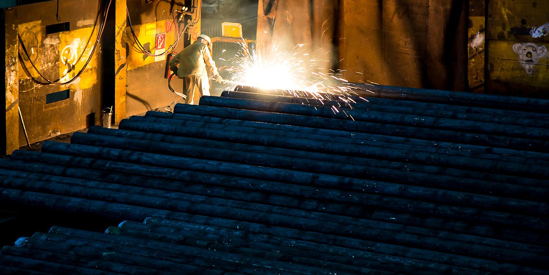 Stahl - Hitze - Arbeit