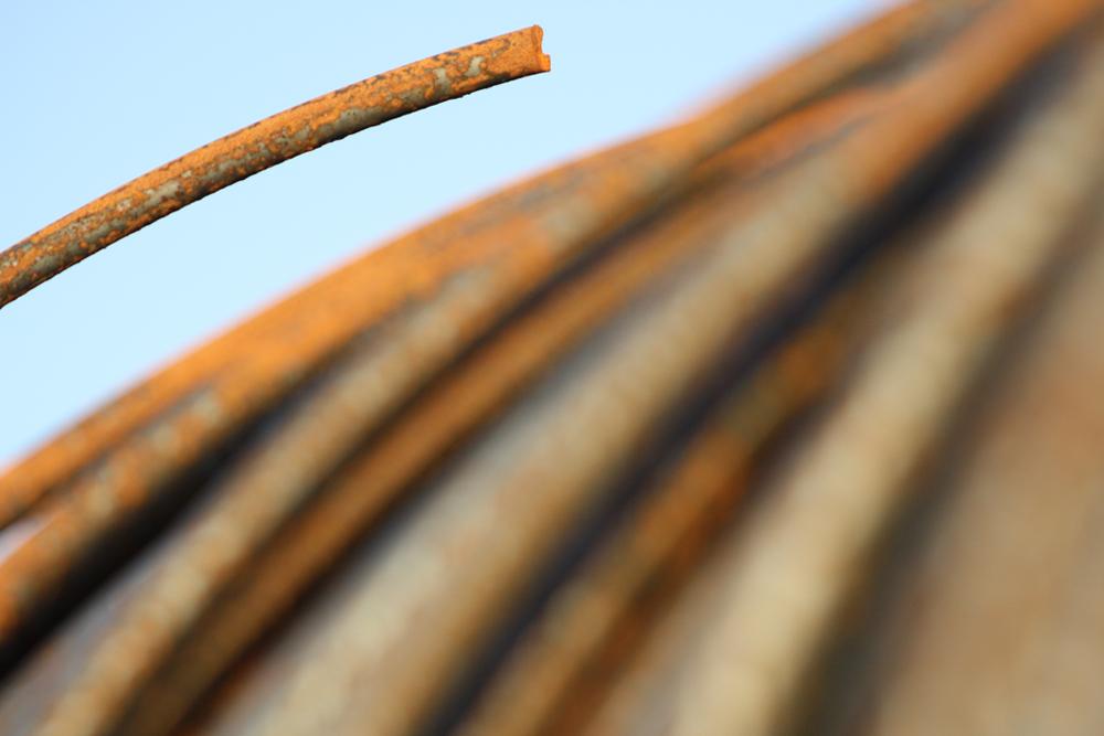Stahl im Dortmunder Hafen