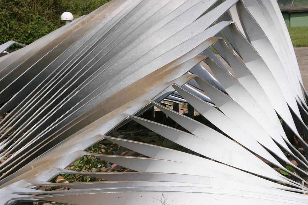 Stahl in der Natur