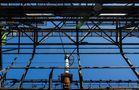 Stahlkonstruktion der Staubschutzhalle Kokerei Hansa