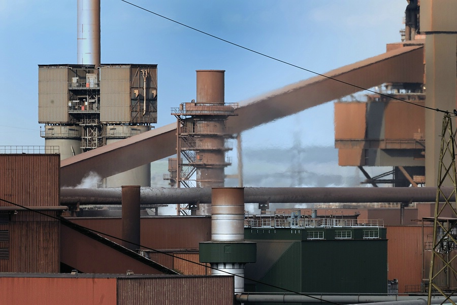 Stahlküche von Duisburg Kokerei