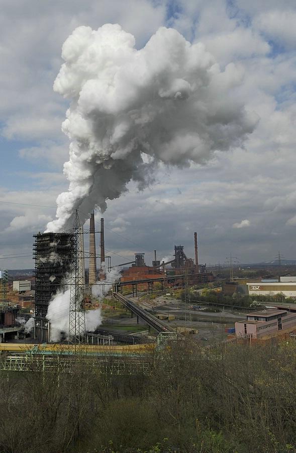 Stahlküche von Duisburg Kokerei 1
