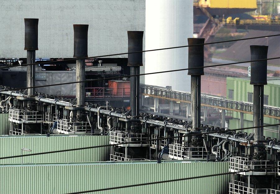 Stahlküche von Duisburg Kokerei 2