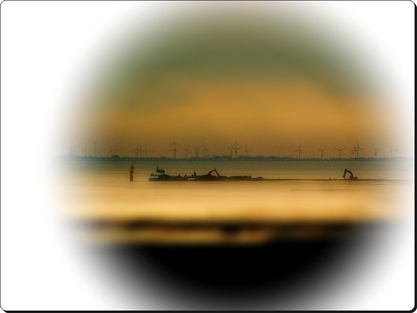 Stahlmonster im Wattenmeer