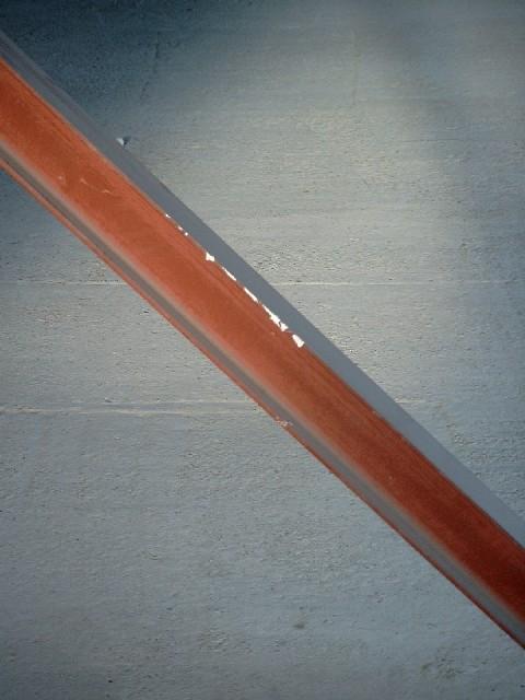 Stahlträger im Dachgeschoß