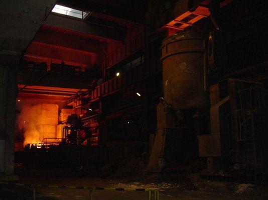 Stahlwerk Differdingen Luxemburg
