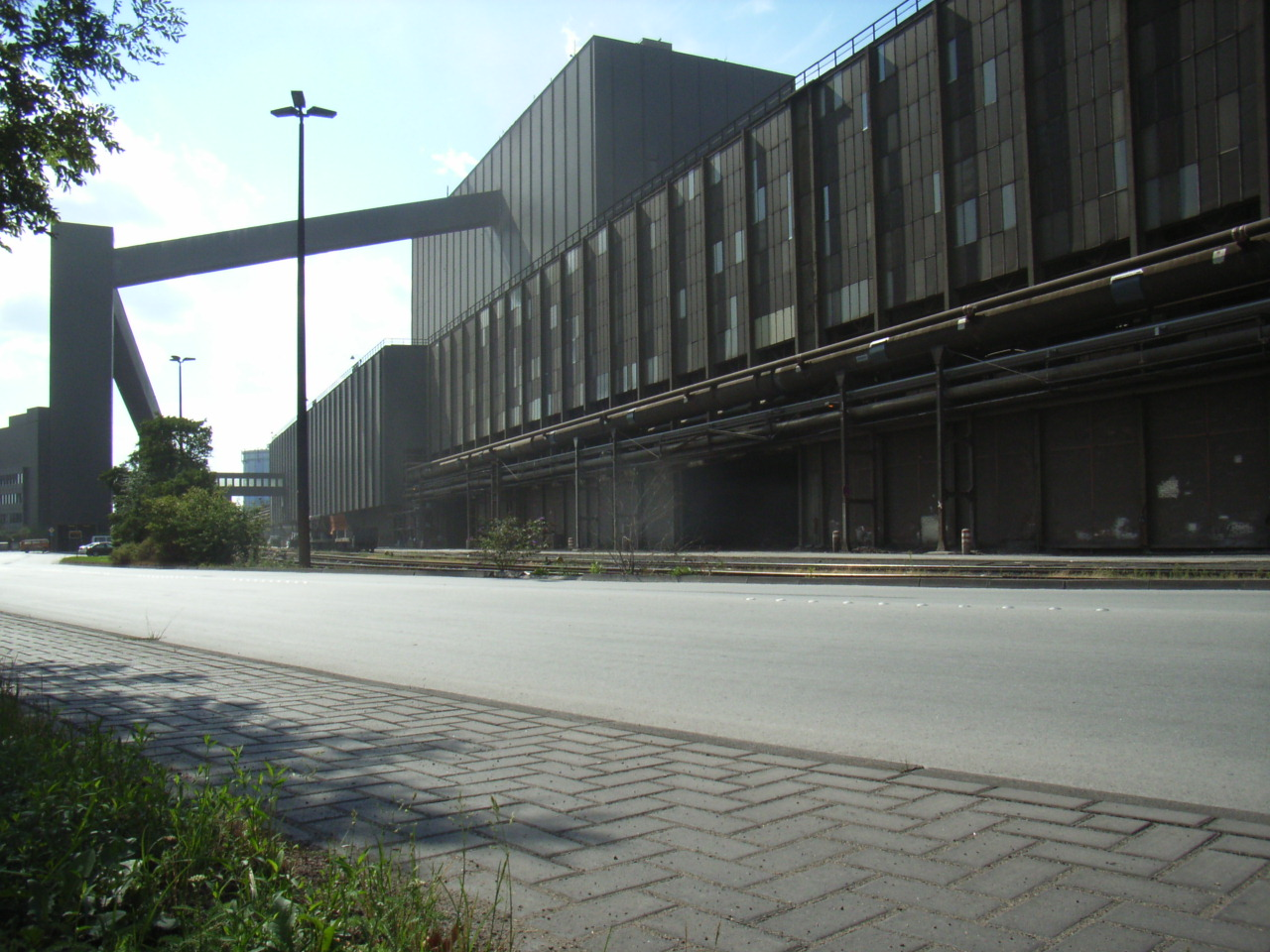 Stahlwerk Duisburg Bruckhausen