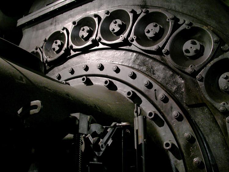 Stahlwerk Gebläse