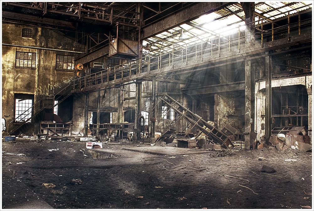 Stahlwerk Gießerei 2ter Versuch