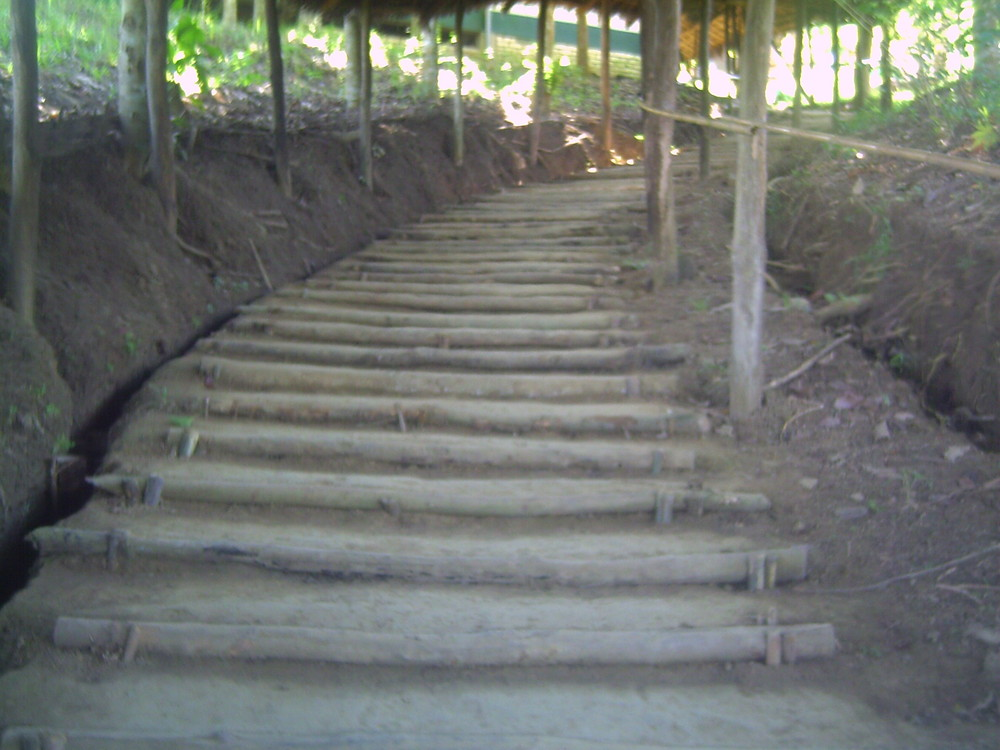 Stair case in Bandarban