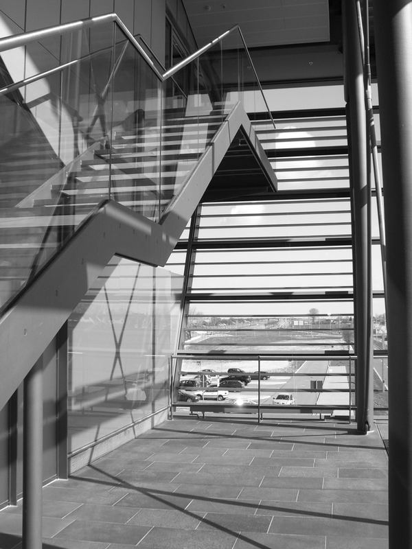 stairs airport lpz