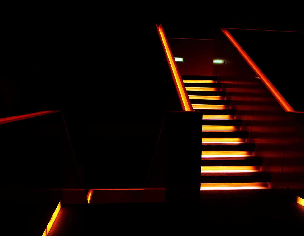Stairs in the Dark