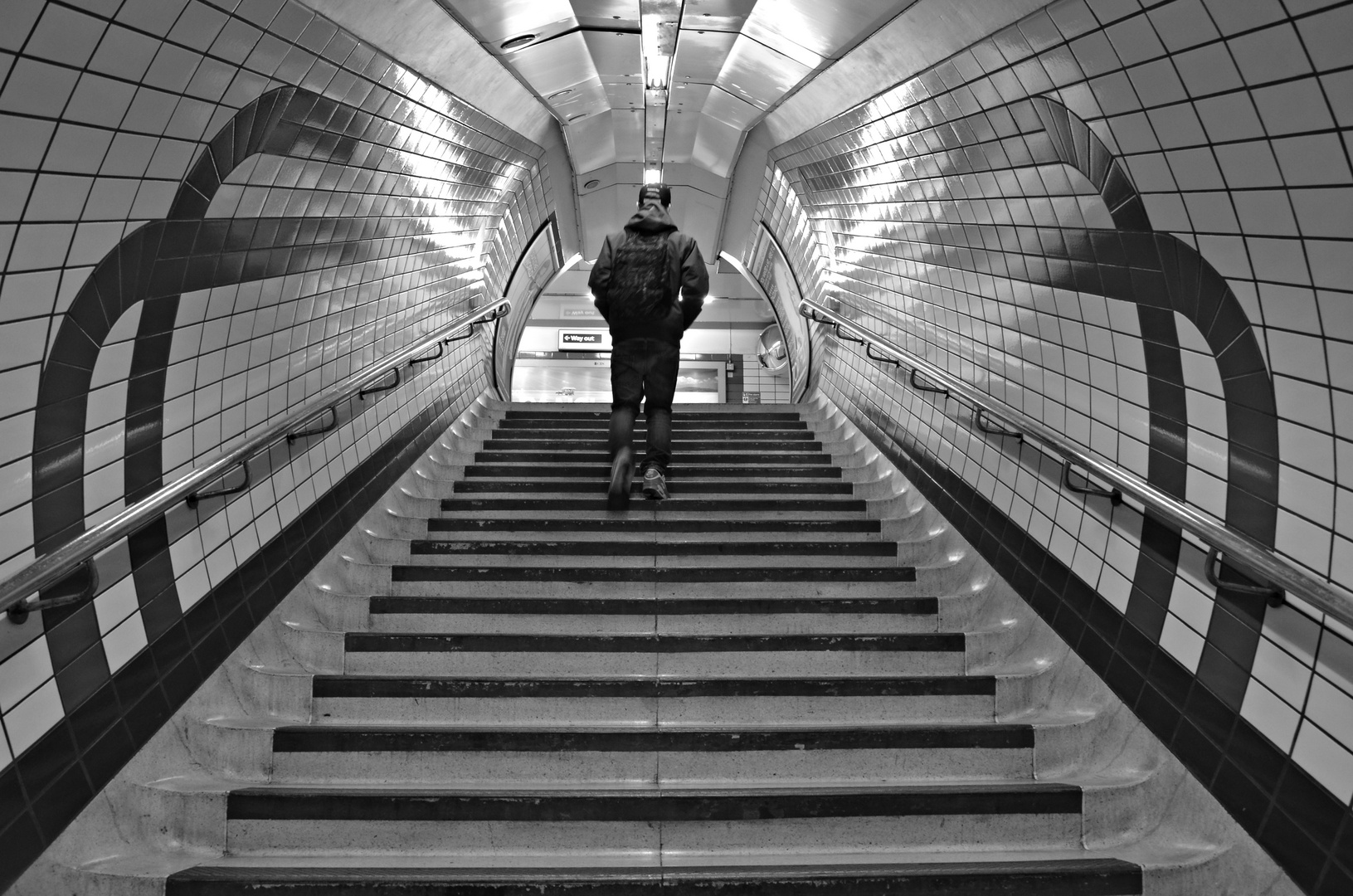 Stairs in the Tube