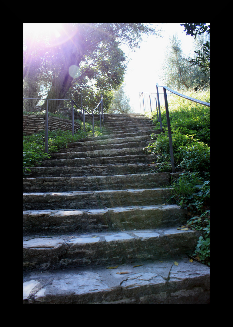 Stairs to ....