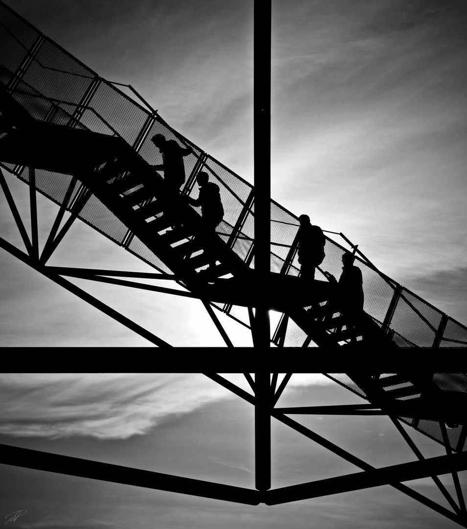 .Stairway to heaven.