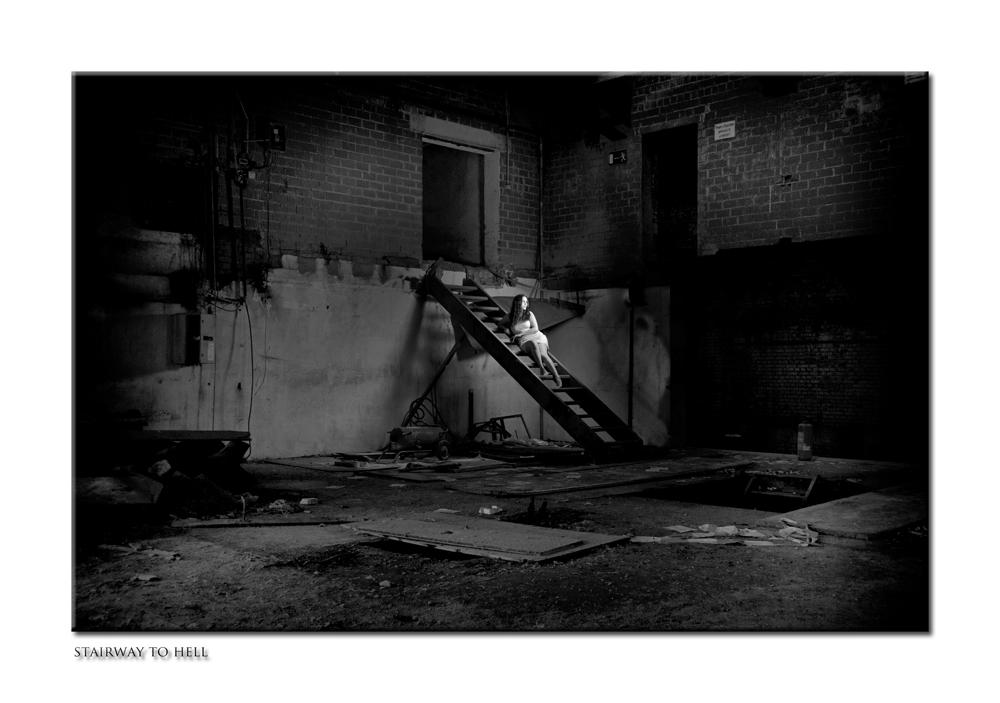 stairway to hell (2013, Forum Fotografie Weissach im Tal)