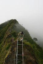 Stairways to heaven on Oahu