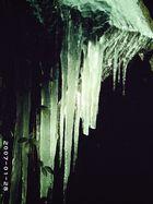 stalactites d'hiver