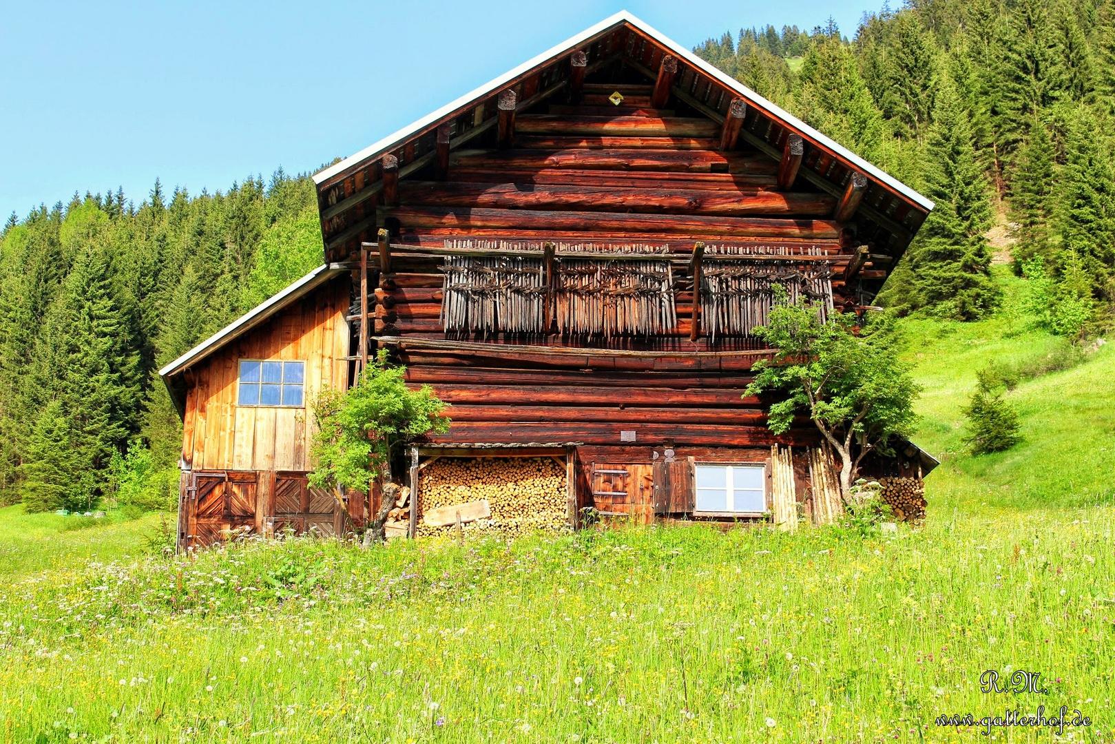 Stall, Berghütte im Kleinwalsertal