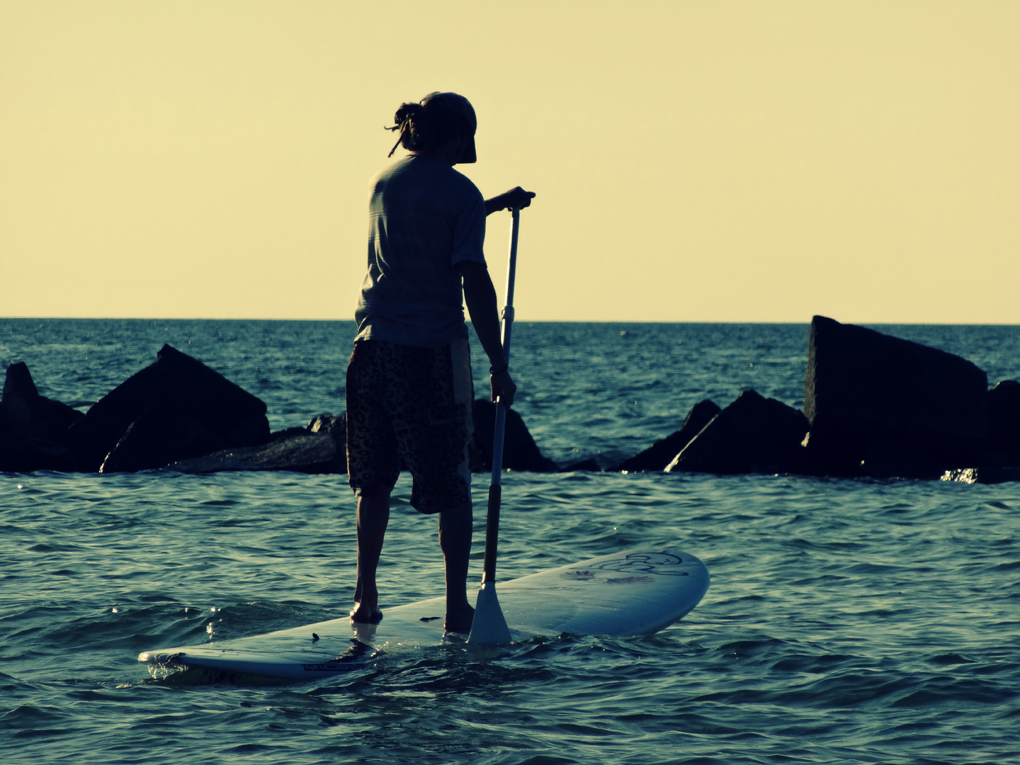 stand up paddling ...