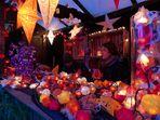 Standlichter auf dem Weihnachtsmarkt