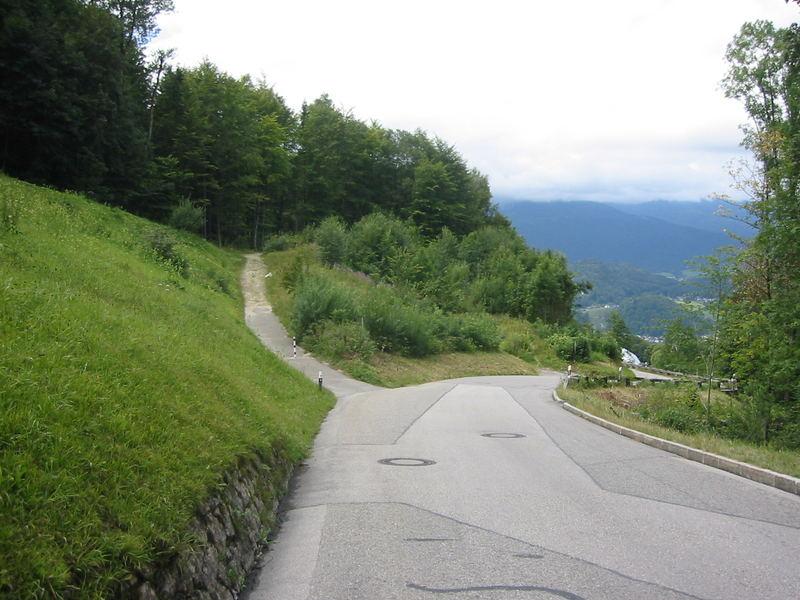 Standort des ehemaligen Berghofes auf dem Obersalzberg 08/2007