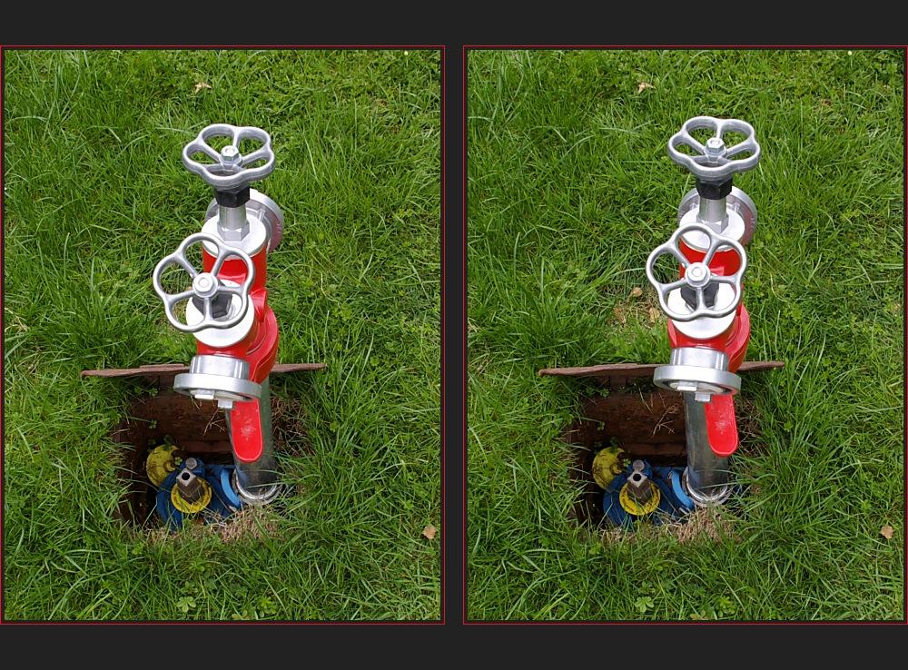 Standrohr im Unterflurhydranten [3D)