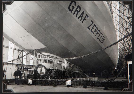 Stapellauf der Graf Zeppelin 1928