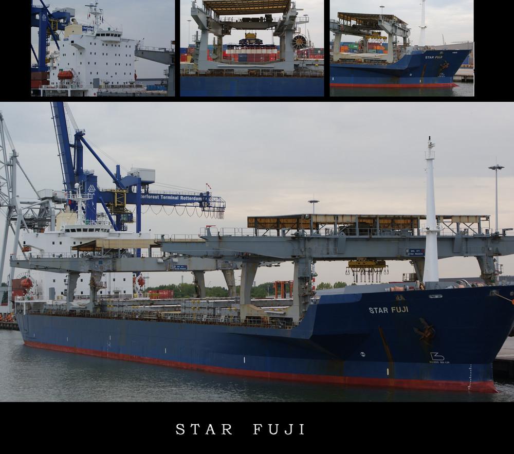 Star Fuji im Rotterdamer Hafen