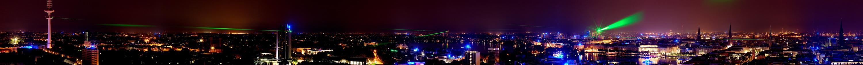 Star Wars over Hamburg
