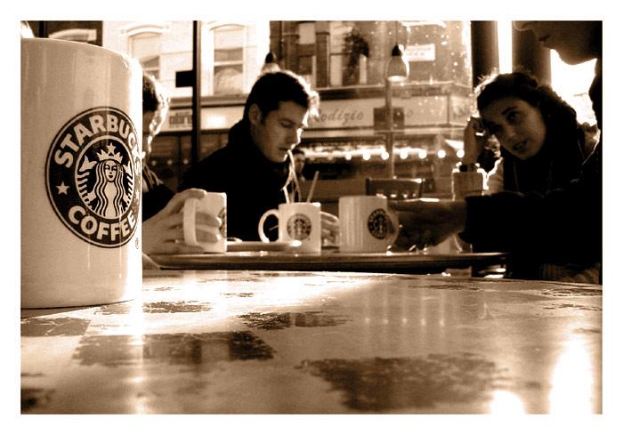 Starbuck's Coffee London