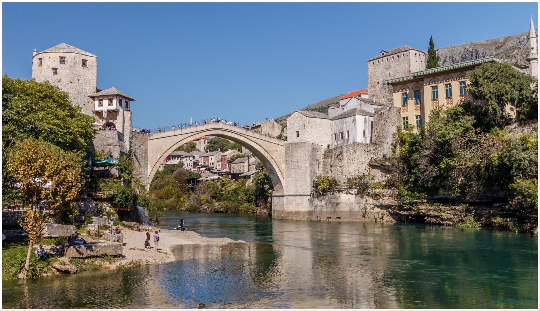 Stari most - die Brücke von Mostar