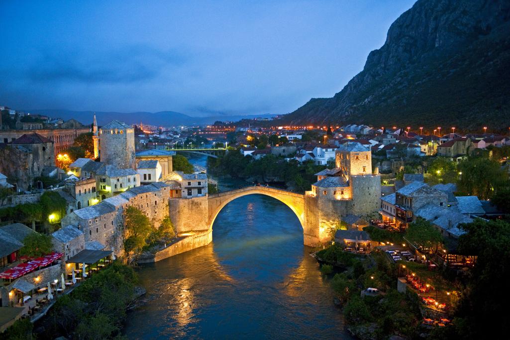 Stari Most - die Brücke von Mostar, Bosnien-Herzegowina