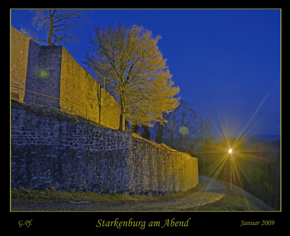 Starkenburg am Abend DRI