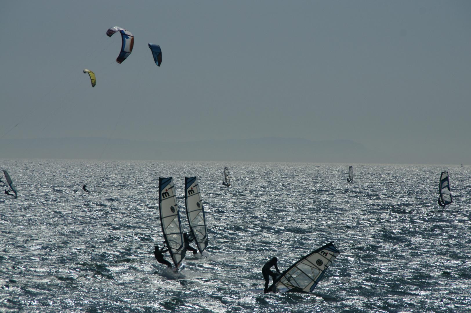 Starker Wind in Tarifa