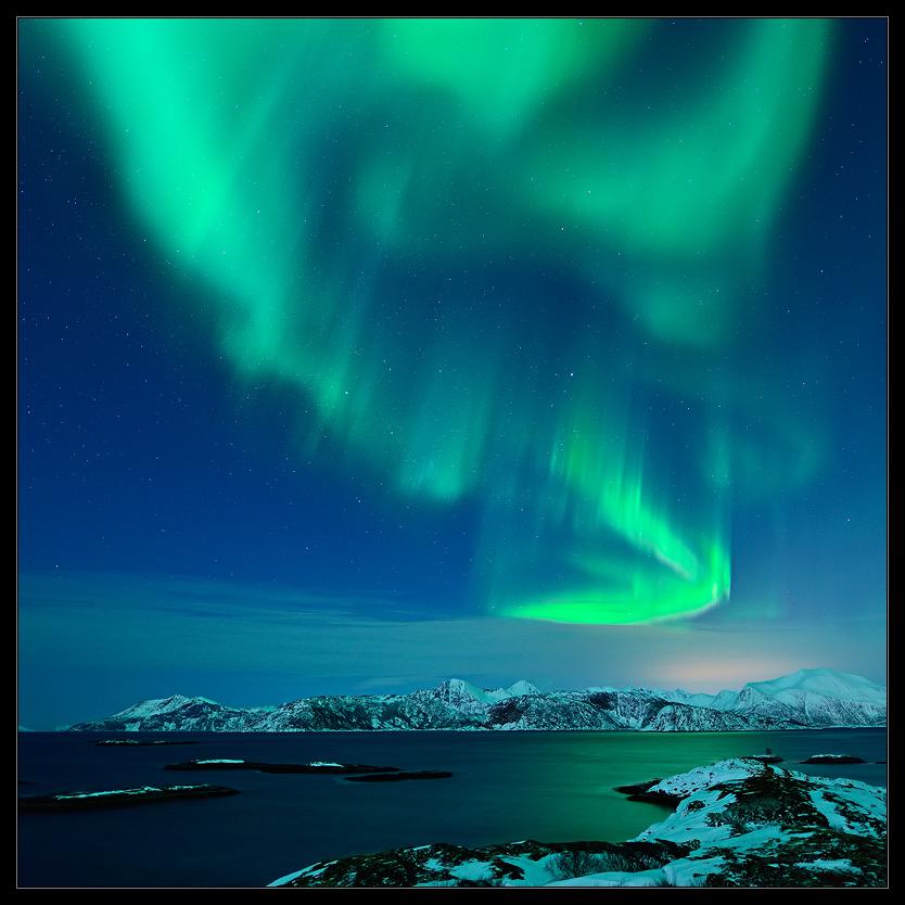 Starkes Nordlicht...