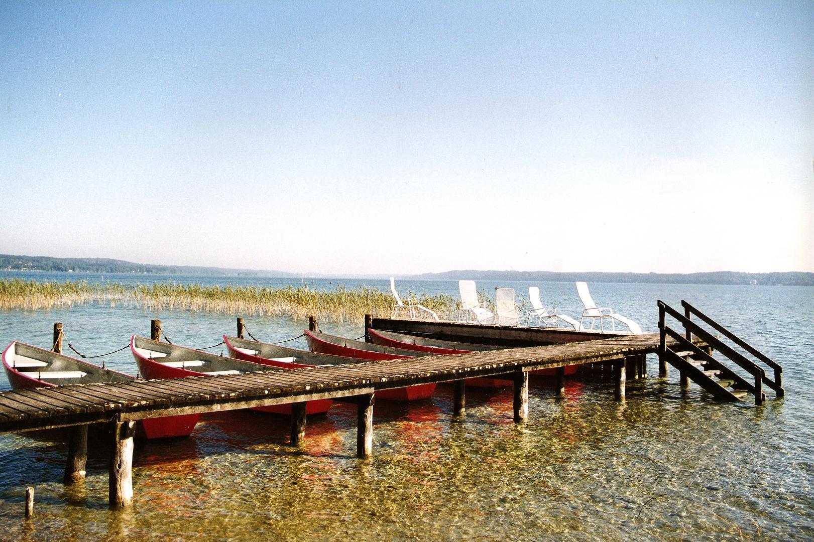 Starnberger See 1998 (noch analog)