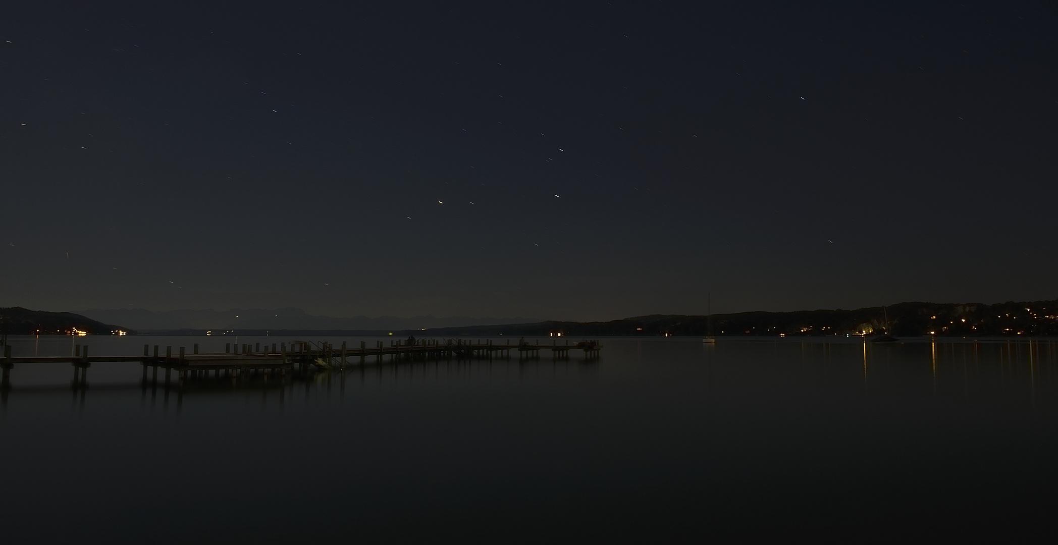 Starnberger See bei Nacht