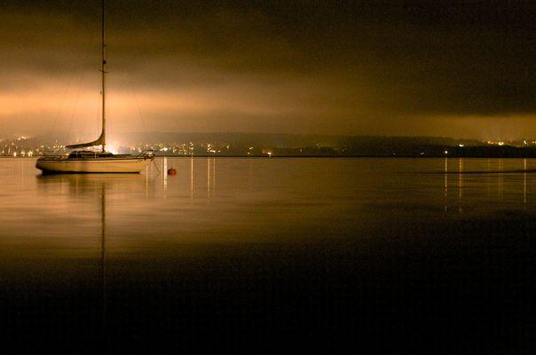 Starnberger See, Blick auf Bernried