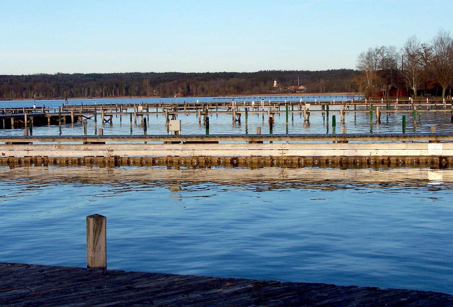 Starnberger See im Vorfrühling