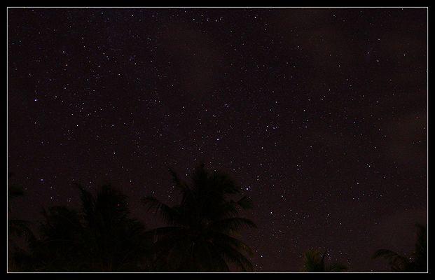 Stars over the Maldives