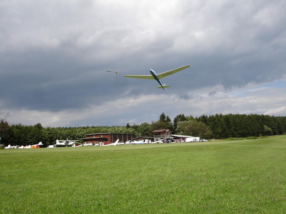 Start Frei Flugplatz Schotten Vogelsberg