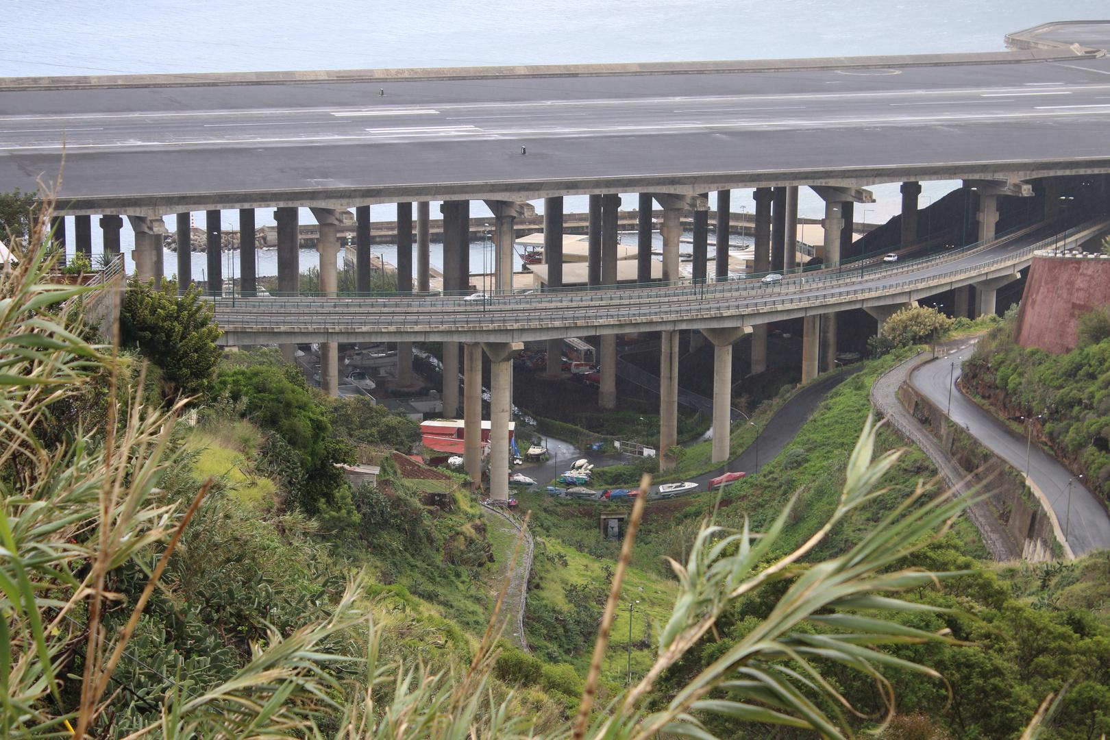 Start- und Landebahn auf Madeira