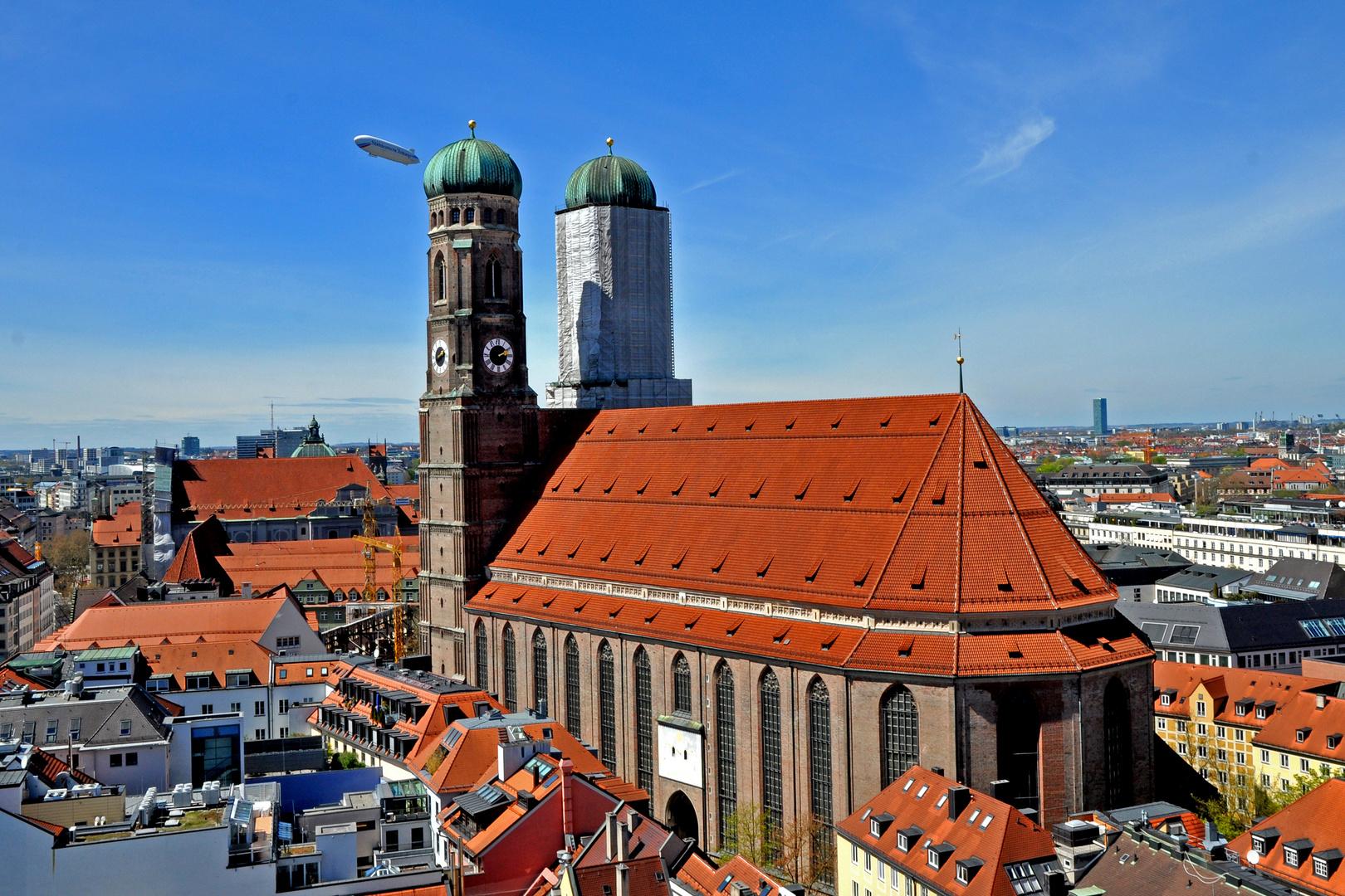 Start- und Landebahn Frauenkirche