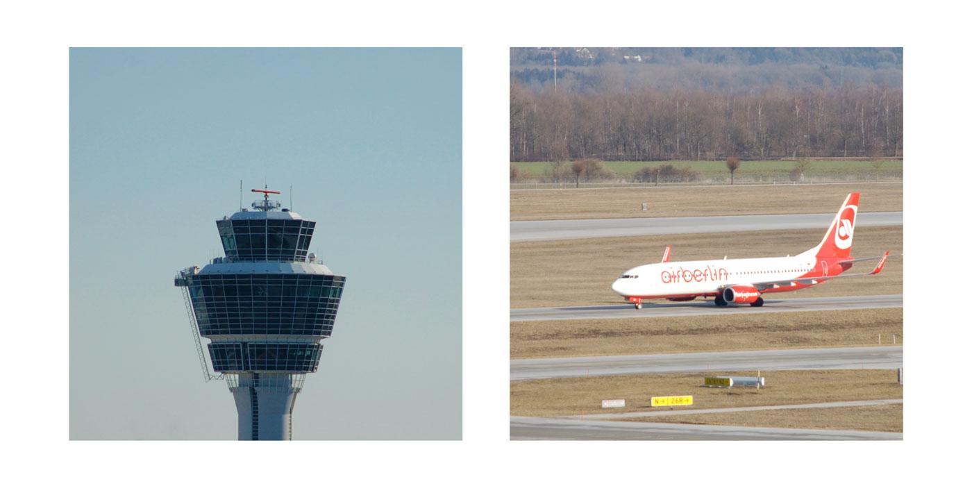 Start und Landung