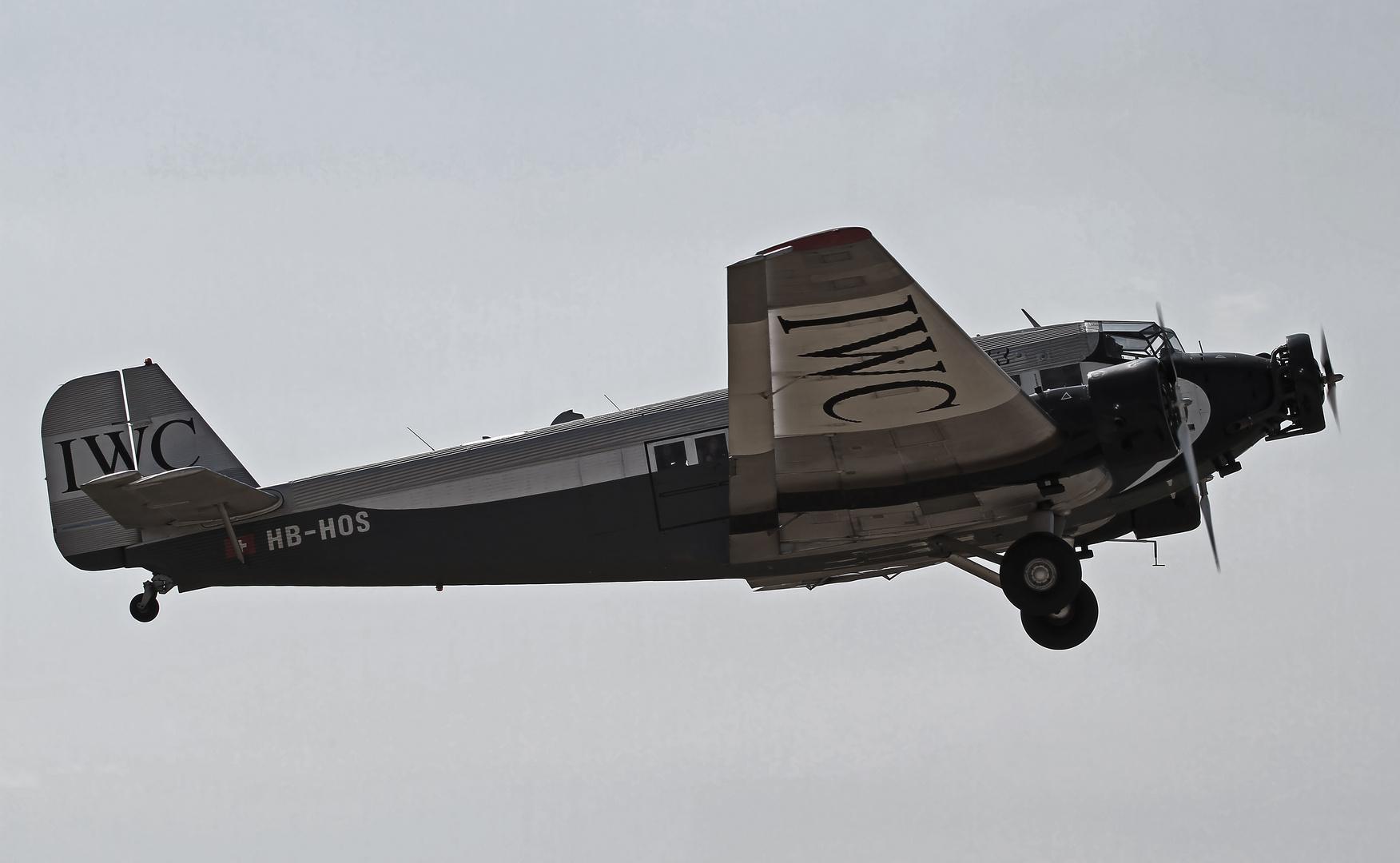 Start zum Rundflug - Hahnweide 2013