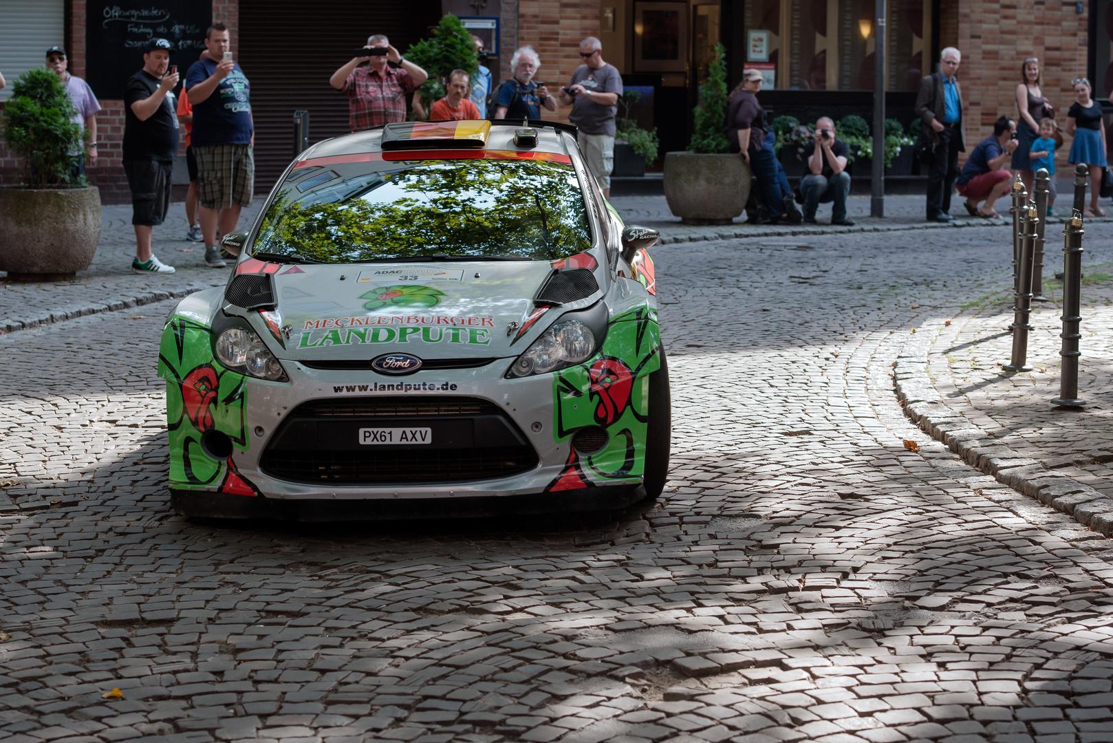 Start zur Rallye Deutschland
